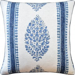 Chappana Pillow - Blue & White