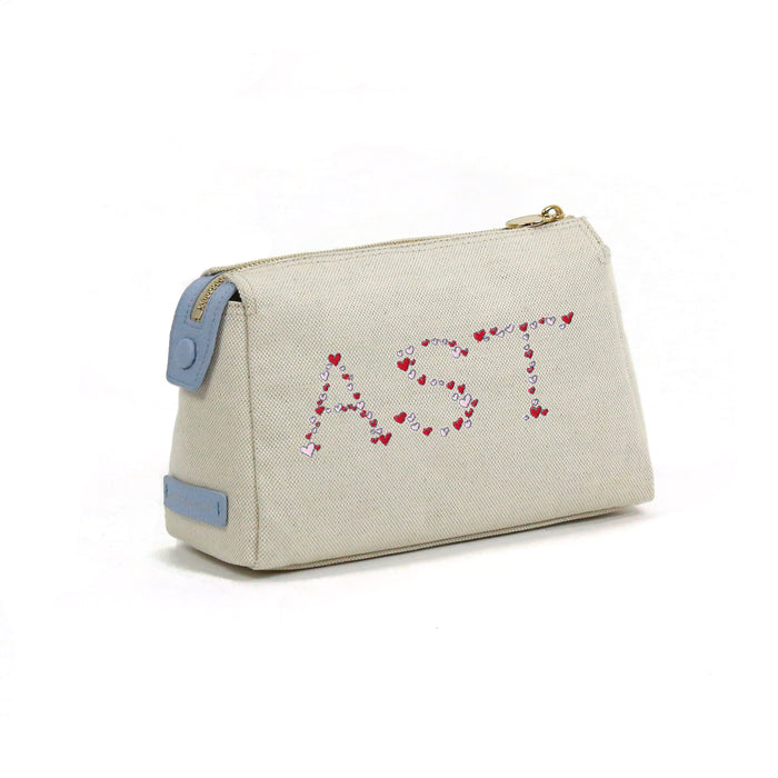 Small Canvas Cosmetic Bag