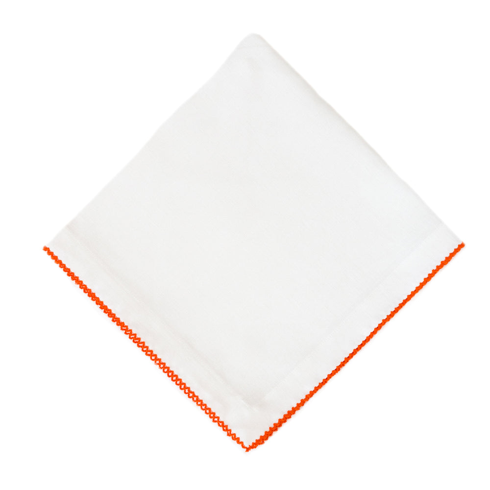 Orange Pico Edge Napkin