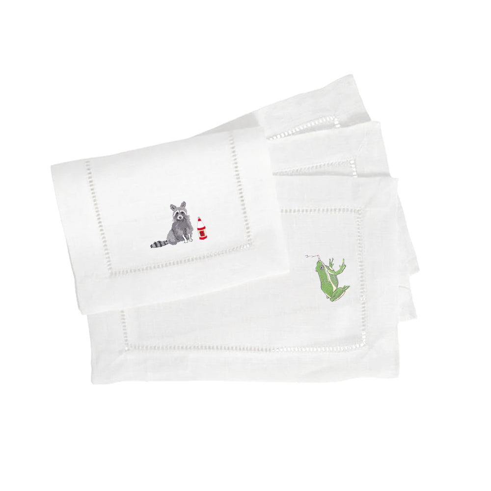 Party Animal Fold Over Cocktail Napkins