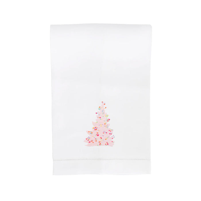 Tinsel Tree Hand Towel