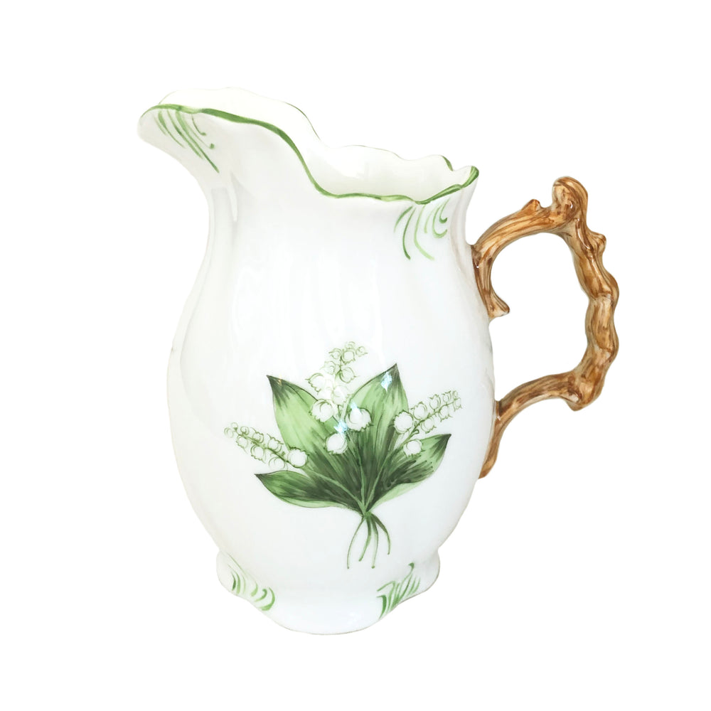 Lily of the Valley Pitcher