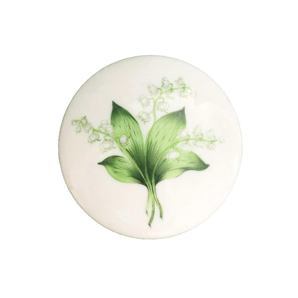 Lily of the Valley Porcelain Box