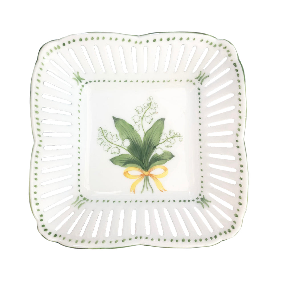 Lily of the Valley Tray - Pierced