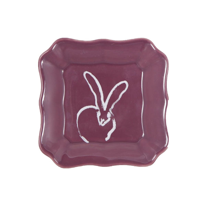 Bunnies Dish - Purple