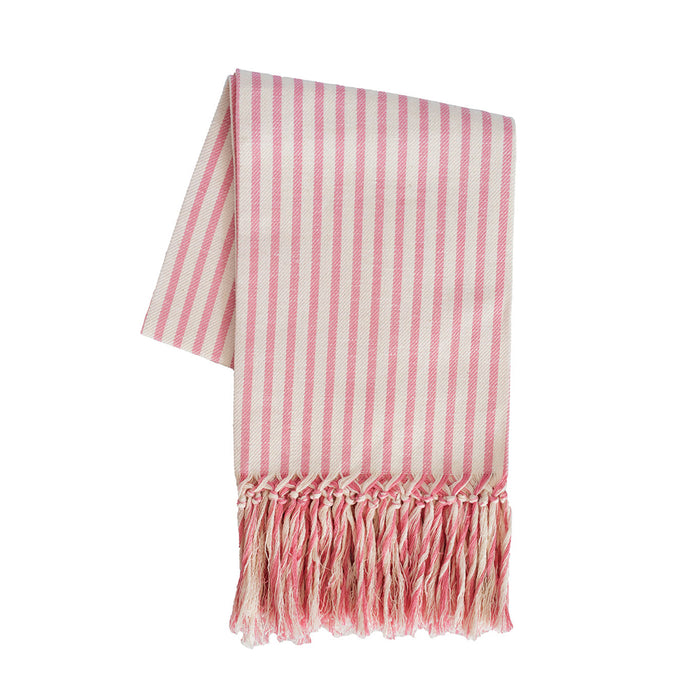 Melograno European Hand Towel - Cotton Candy Pink