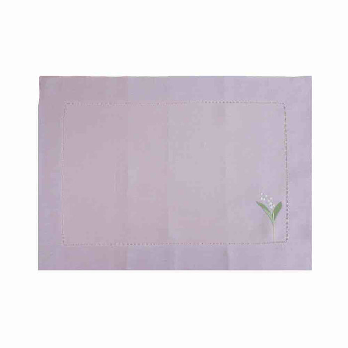 Lily of the Valley Placemats - Lavender