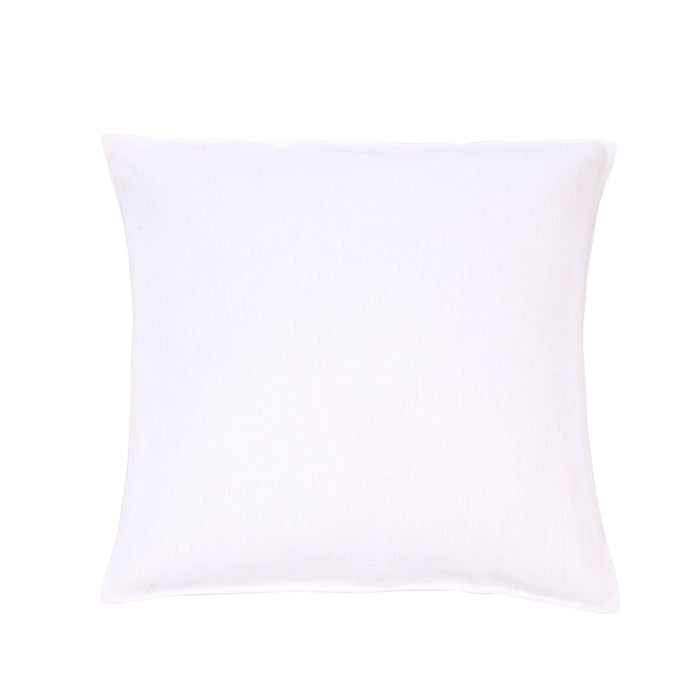 Napoli Vintage Belgian Linen 20x20 Pillow Sham - Optic White