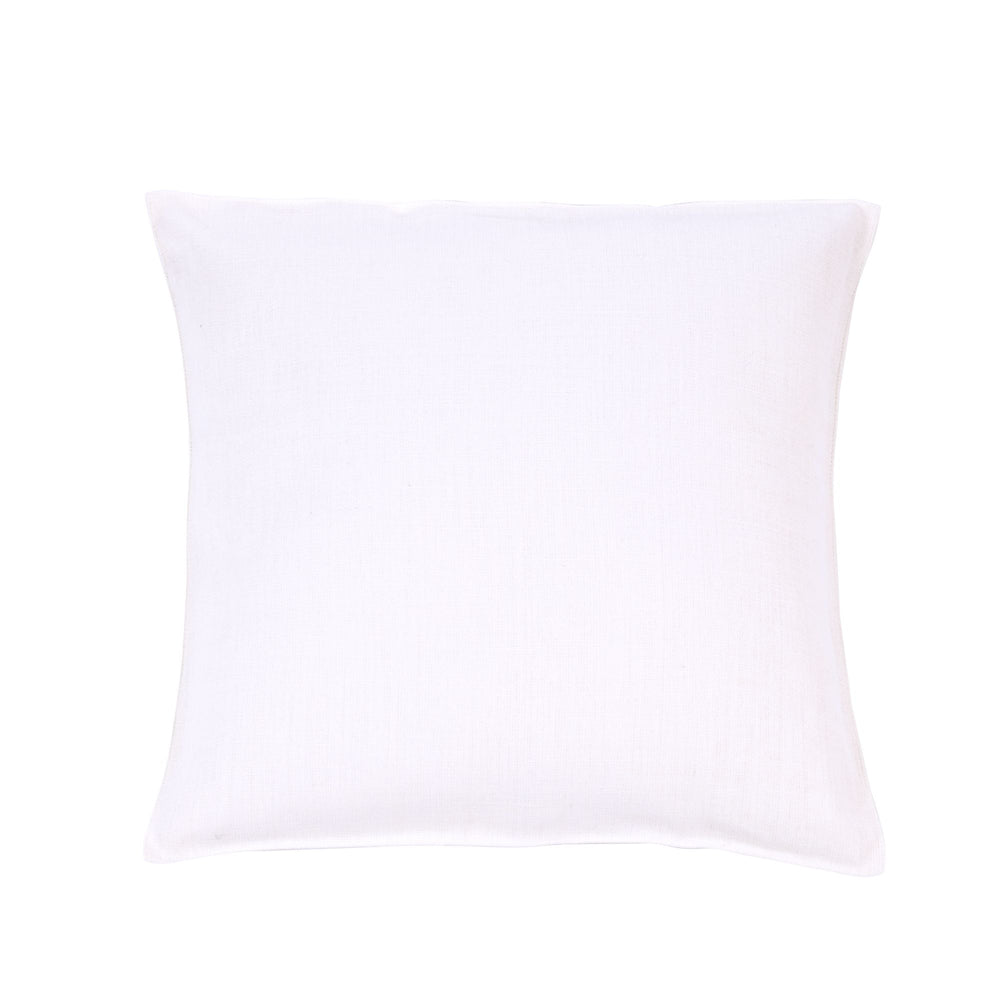 Napoli Vintage Belgian Linen 25x25 Pillow Sham - Optic White