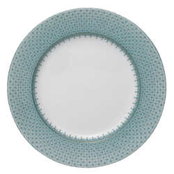 Green Leaf Lace Dinner Plate