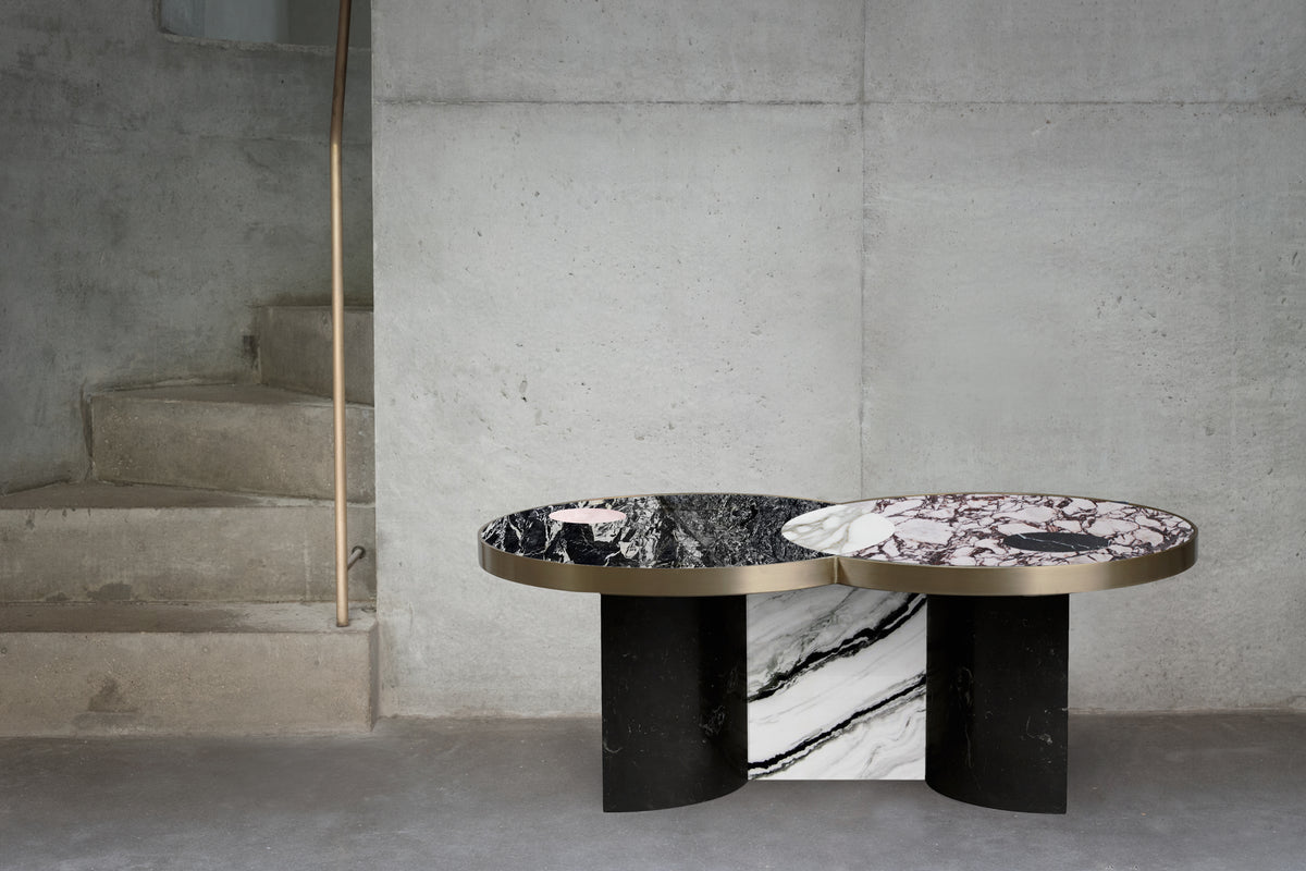 SUN AND MOON COFFEE TABLE - ALPINE