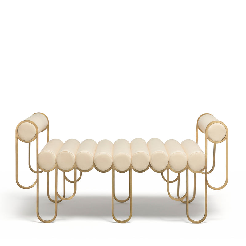 APOLLO LOVESEAT - CREAM