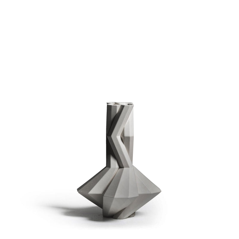 FORTRESS CUPOLA VASE - GREY