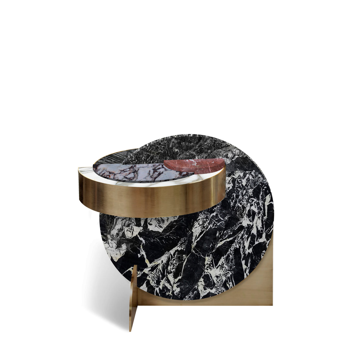 FULL MOON SIDE TABLE - ALPINE
