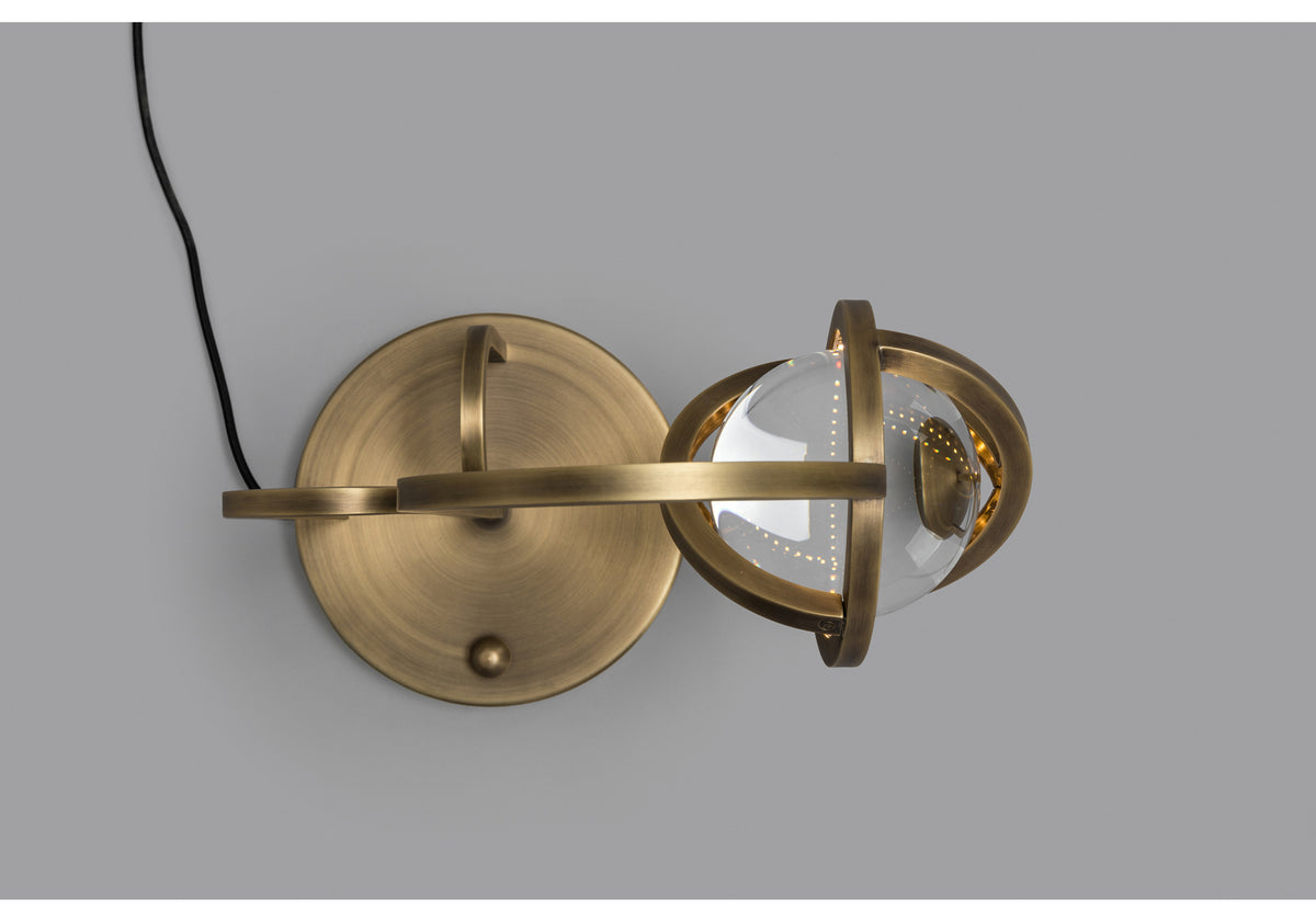 PLANETARIA TABLE LIGHT - DARK BRASS
