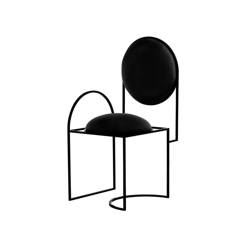 SOLAR CHAIR - BLACK