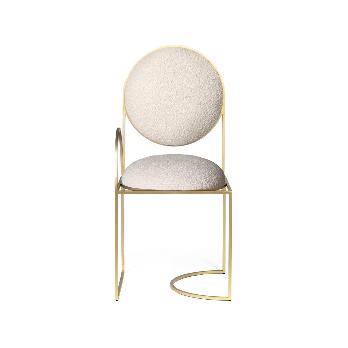 SOLAR CHAIR - IVORY BOUCLE