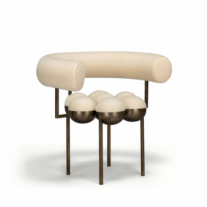 SATURN CHAIR - CREAM
