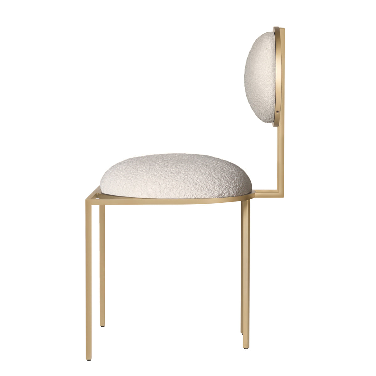 ORBIT DINING CHAIR - IVORY BOUCLE