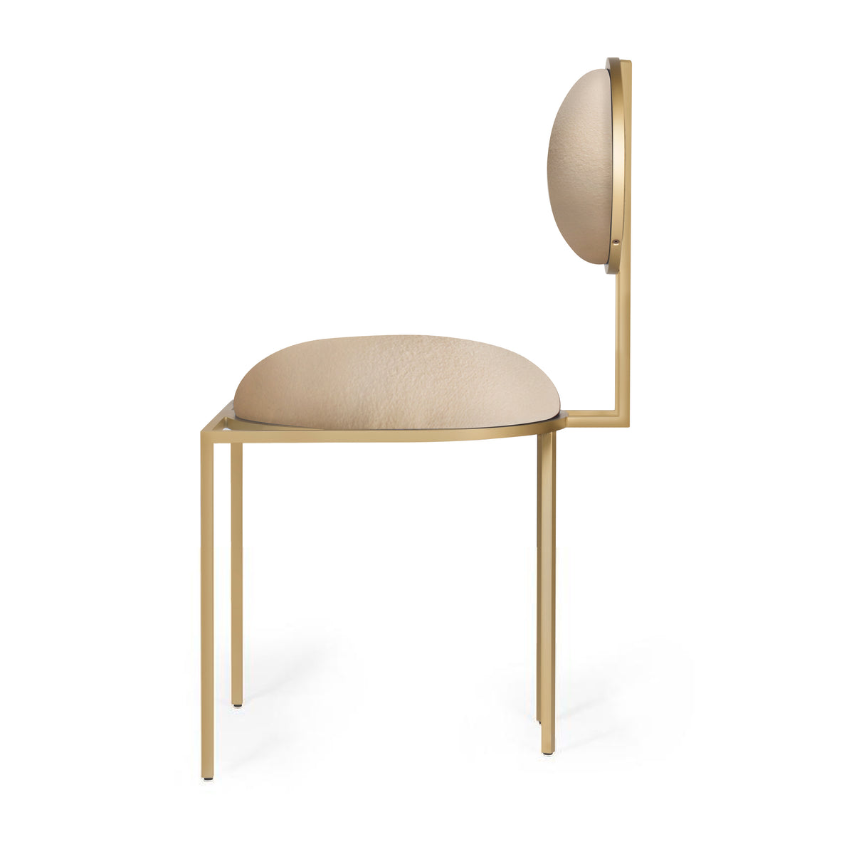 ORBIT DINING CHAIR - CREAM