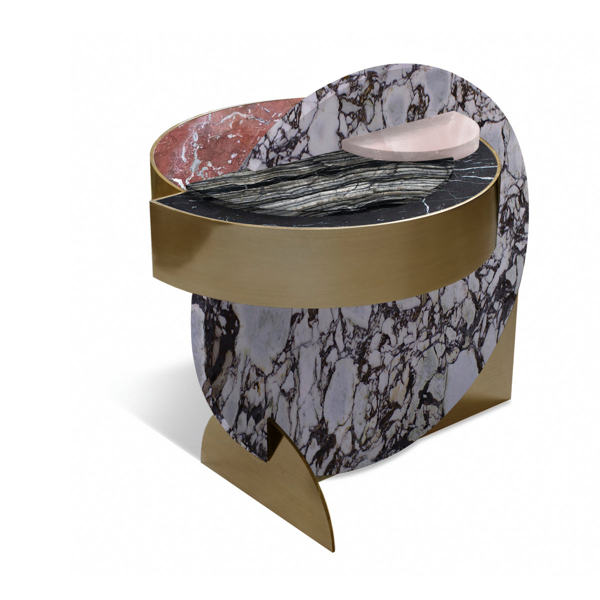 FULL MOON SIDE TABLE - DUNE