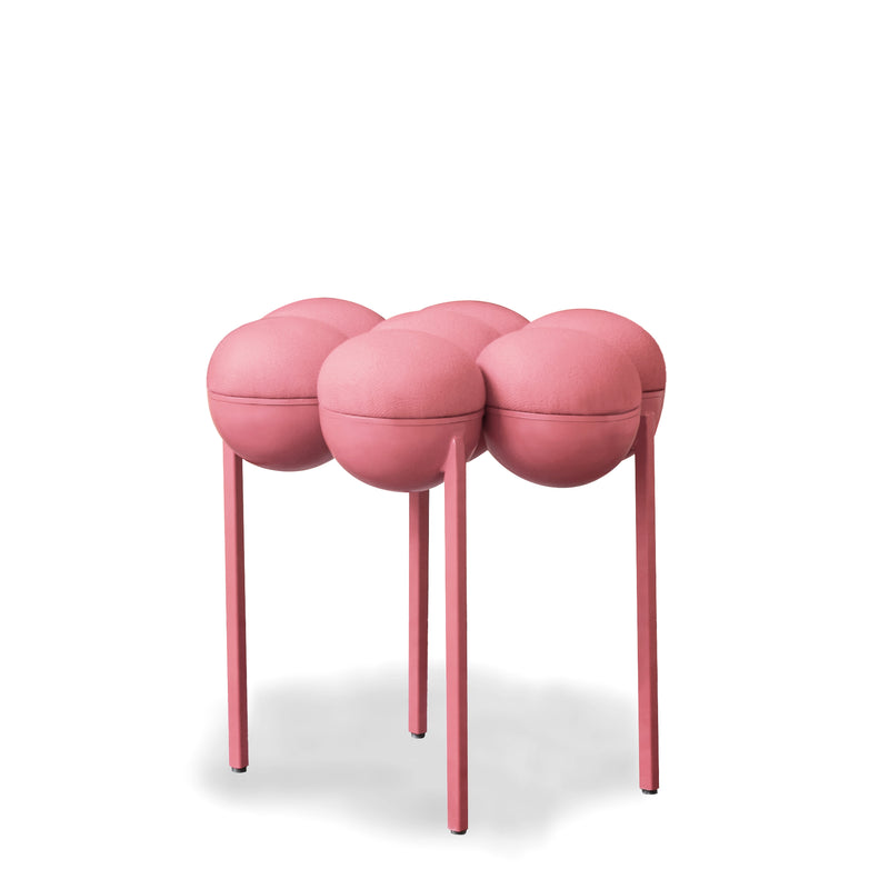 SATURN POUFFE SMALL - PINK