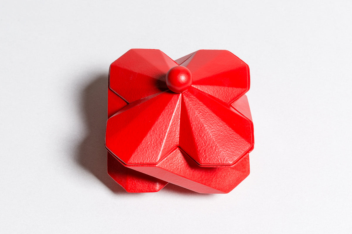FORTRESS TREASURY BOX - RED