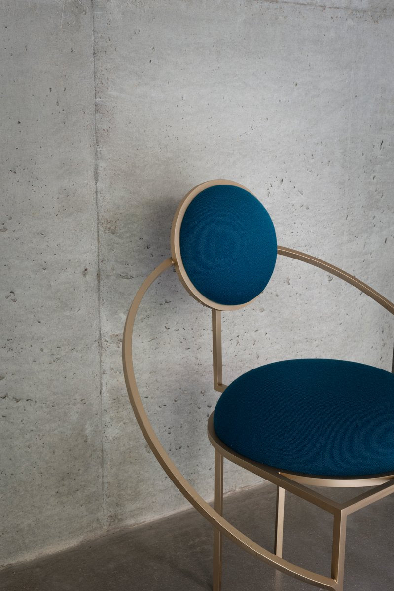 ORBIT CHAIR - PETROL BLUE