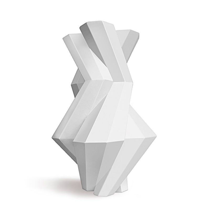 FORTRESS CASTLE VASE - WHITE