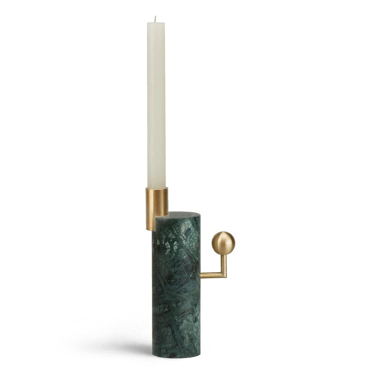 STARGAZER CANDLE HOLDER SINGLE - VERDE GUATEMALA