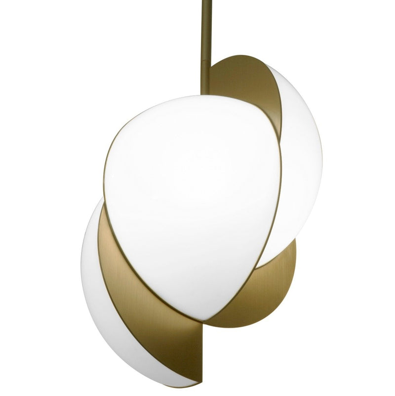 COLLISION CEILING LIGHT - GOLD
