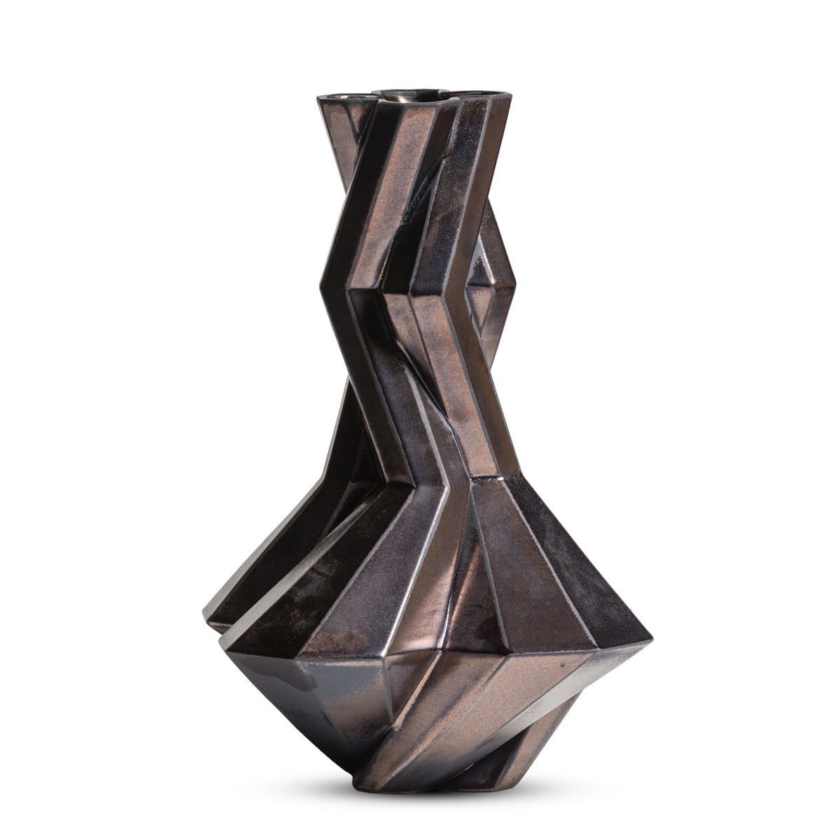FORTRESS CUPOLA VASE - BRONZE