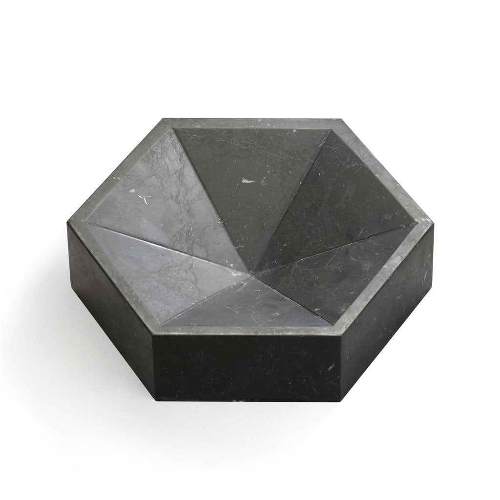 CONSTELLATION BOWL LARGE - NERO MARQUINA