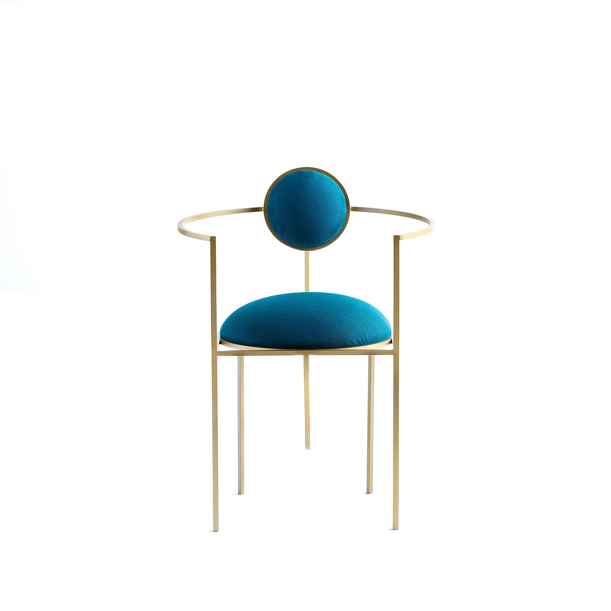 LUNAR CHAIR - PETROL BLUE