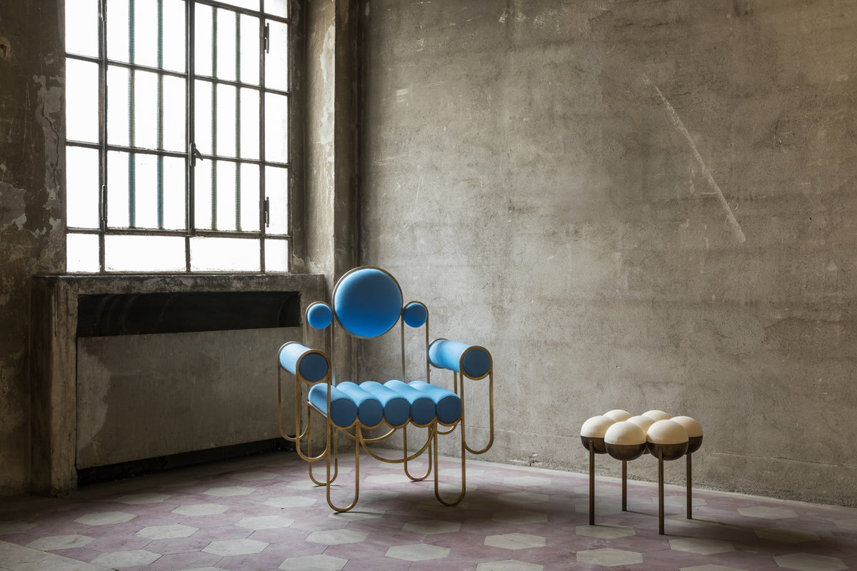 APOLLO ARMCHAIR - BLUE