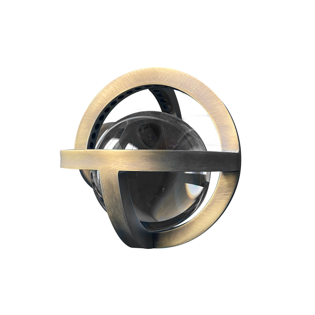 PLANETARIA WALL LIGHT - DARK BRASS