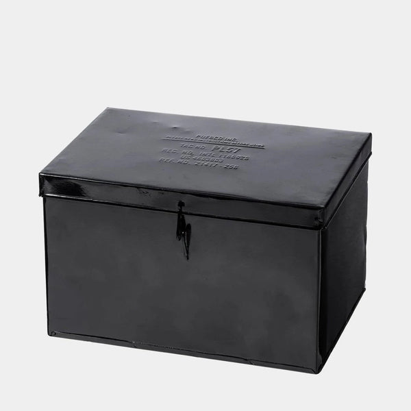 Puebco Black Steel Box