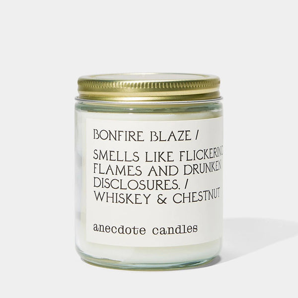 Anecdote Candles Bonfire Blaze Candle