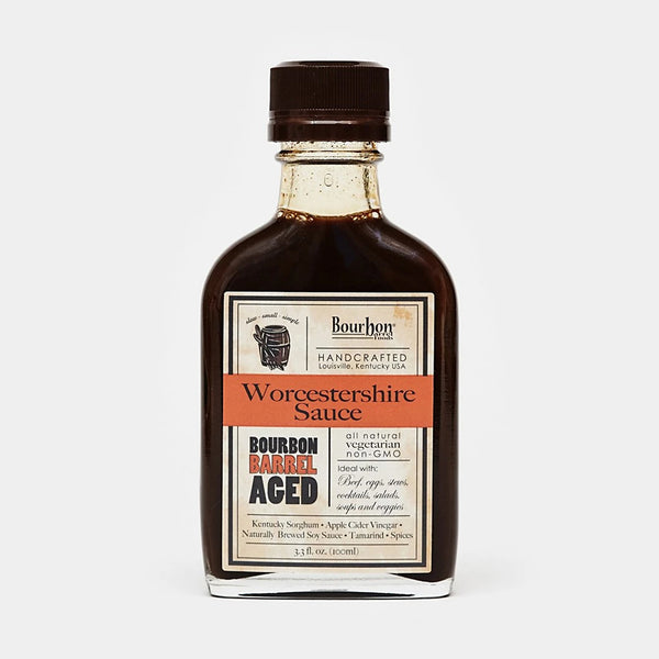 Bourbon Barrel Foods Bourbon Barrel Aged Worcestershire Sauce