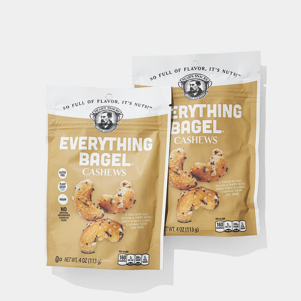 Everything Bagel Cashews (2-pack)