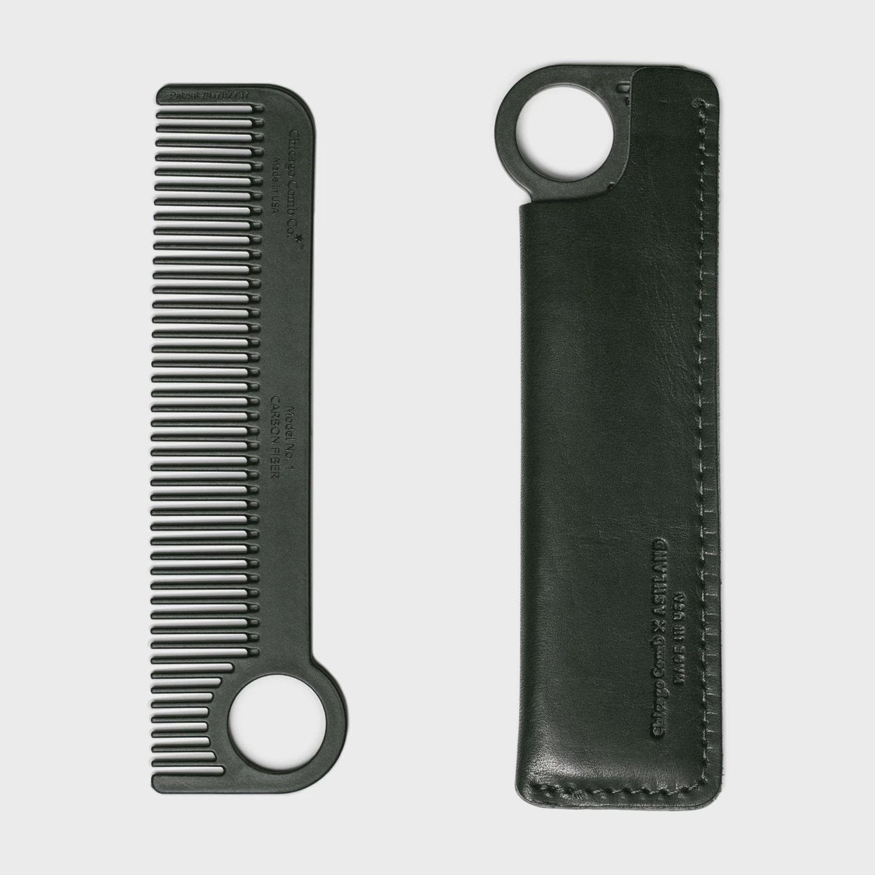 Chicago Comb Co. Carbon Fiber Comb