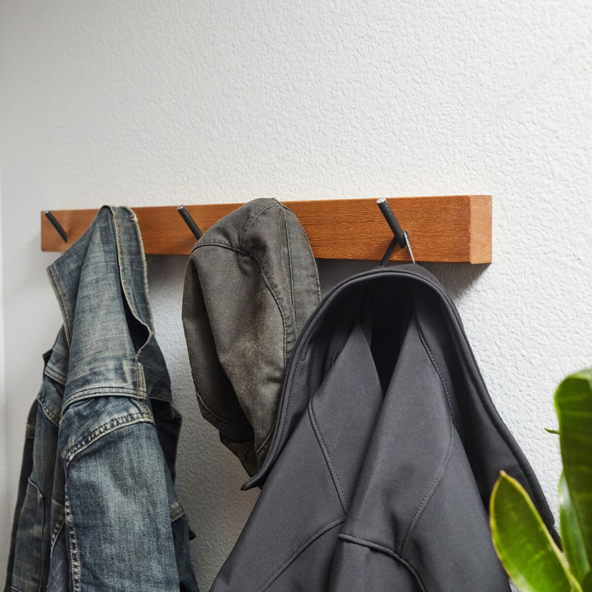 Five-Peg Coat Hook - Cool Material