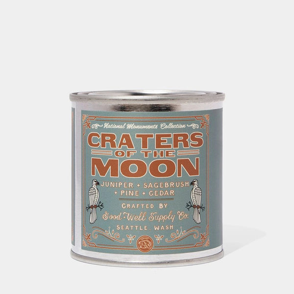 Craters of the Moon Candle