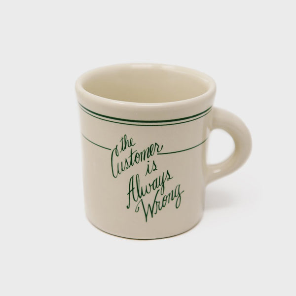 Fishs Eddy The Customer is Always Wrong Mug