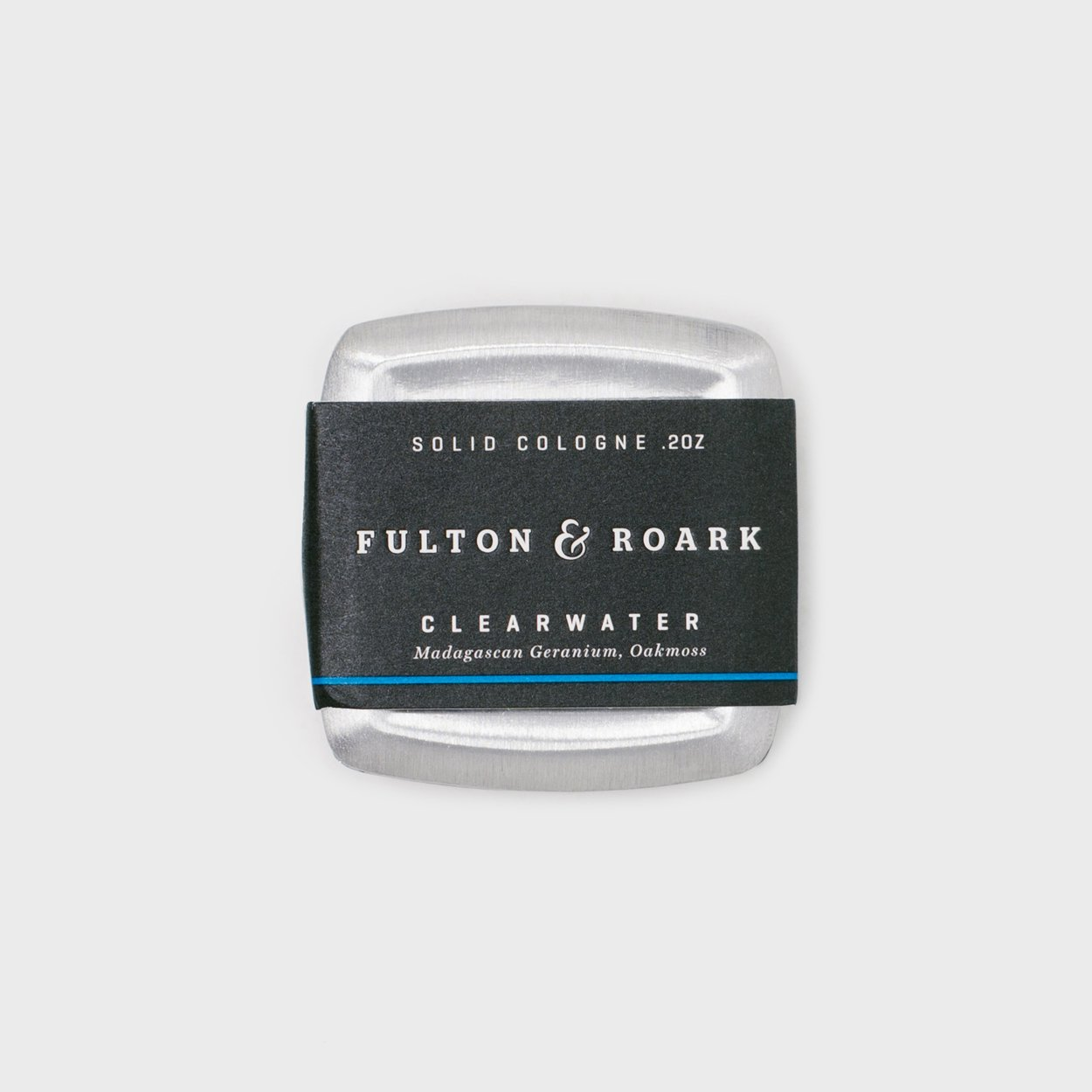 Fulton & Roark Solid Cologne-Clearwater - Cool Material
