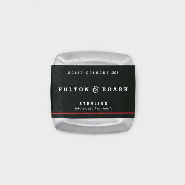 Fulton & Roark Solid Cologne Sterling - Cool Material
