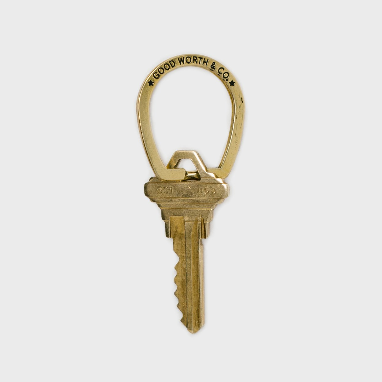 Good Luck Key Ring by Goodworth - Shop Cool Material