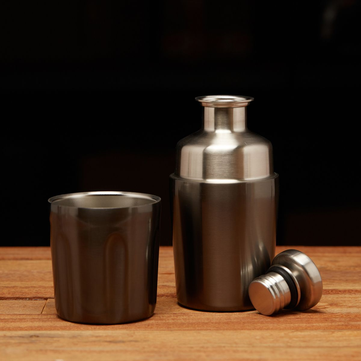 Halflight Flask Gunmetal