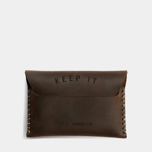 Keep It Slim Flap Wallet