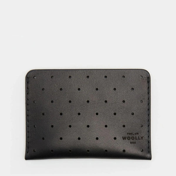 Leather Sleeve Wallet - Black